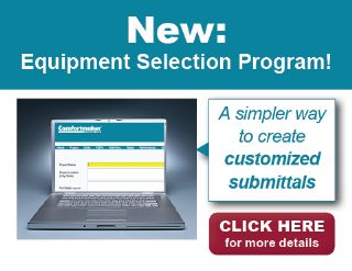New Equipment Selection Program website streamlines the process.