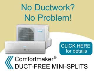 No Ductwork? No Problem!