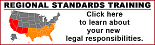 Click here for Regional Standards Training