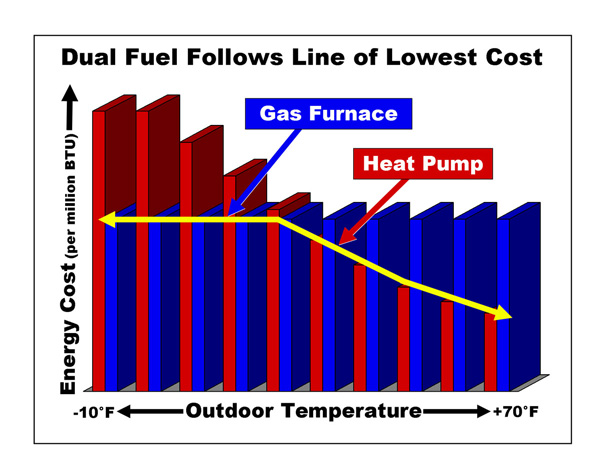 How Dual Fuel Cuts Energy Costs