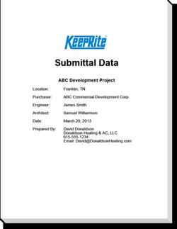 Gokeeprite for Homeowner selection sheet